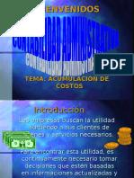 Sistema de Acumulacion de Costos
