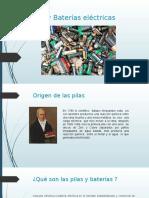 Pilas y Baterías Electricas