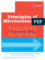 Clep Principles of Microeconomics Examination Guide1