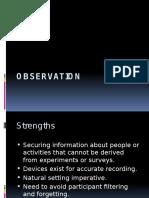 7. Observation