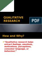 4b. Qualitative Research