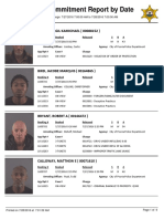 Peoria County Jail Booking Sheet for July 28, 2016