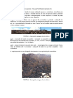 Escavação e Transporte Do Basalto