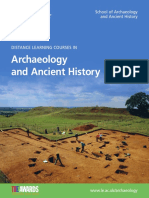 DL Archaeology and Ancient History