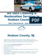 Air Duct Cleaning in Hudson County - Air Duct Brothers