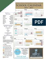 dsisd calendar 2016-17