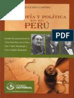 Castro, Augusto - Filosofía y Política en El Perú