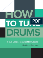 DRUM! How to Tune Drums Minibook