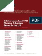 44422 Nursery & Garden Stores in the US Industry Report
