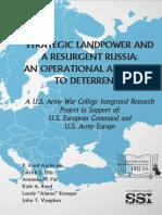 Strategic Landpower and a Resurgent Russia