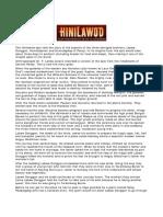 The Hinilawod Epic
