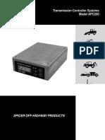 APC200 Transmission
