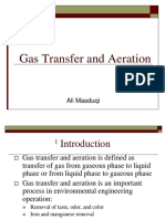 5. Gas Transfer and Aeration