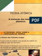 A Evolução Dos Modelos Atômicos IBRATEC