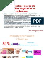 Diagnóstico Clínico de Infección Vaginal en El Embarazo