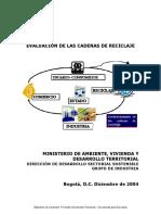 Evaluacion Cadenas RECICLAJE R1 2005