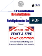 02 Summer Feast&Fire Summary Sturbridge Town Common