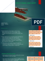 Reinforced Brick Panel 12613