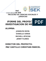 Informe Final de Investigacion de Mercado