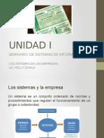 Unidad1 Seminario de Sistemas de Informacion Viernes