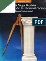 Luis Vega Reñón-La Trama de La Demostración_ Los Griegos y La Razón Tejedora de Pruebas