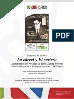 Memorias del evento de lanzamiento Novelas de Jesús Zárate Moreno (2016)