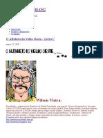 O Alfabeto Do Velho Oeste – Letra C, por Wilson Vieira.