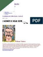 O Alfabeto Do Velho Oeste – Letra D, por Wilson Vieira.