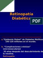 Retinopatía diabetica