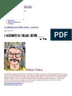 O Alfabeto Do Velho Oeste – Letra G, por Wilson Vieira.