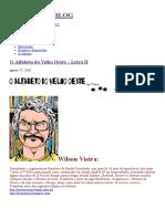 O Alfabeto Do Velho Oeste – Letra H, por Wilson Vieira.