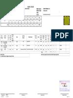 Sample fabrics order sheet