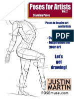 Poses for Artists Volume 2 - Justin Martin