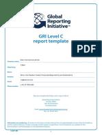 Olam GRI Level C Report Template 2012