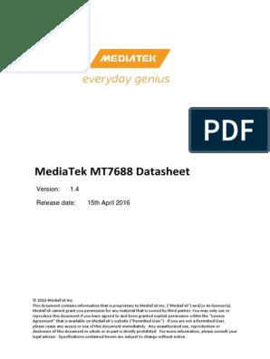 MT7688 Datasheet v1 4 | Usb | License