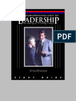 SyberVision - Workbook - Leaders, The Strategies of Taking Charge - Leadersstudyguide