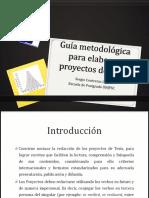Tesis I - Guía Metodológica Para Elaborar Proyectos de Tesis (1)