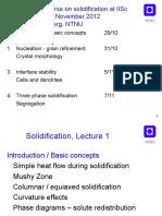 IISc Solidification