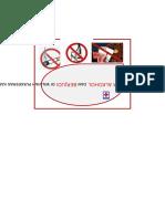 Logo Dilarang Merokok