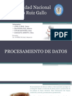 Diapositivas Procesamiento de Datos