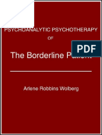 Psychoanalytic Psychotherapy of the Bline Patient - Arlene Robbins Wolberg