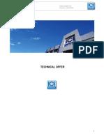 Specification Boiler GX3500