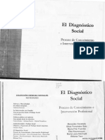 El Diagnóstico Social