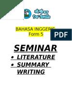 Bahasa Inggeris Seminar