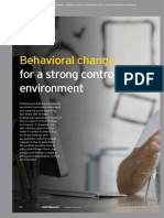 EY Performance Control Environment