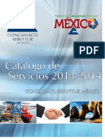 Catalogo Servicios 2013