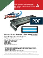 WavePoint T5 Fixture user manual