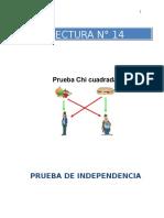 PRUEBA DE CHI CUADRADO