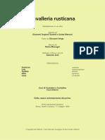 Libretto Cavalleria