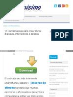 Cómo Crear Libros Digitales Interactivos eBooks